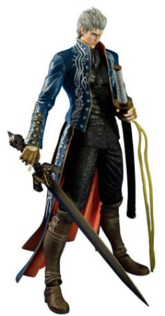 Square-Enix Devil May Cry 3 Vergil Play Arts Kai Action Figure