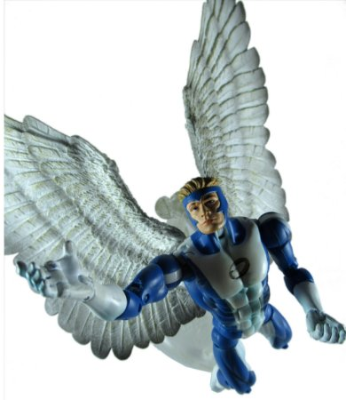 Toy Biz 2005 Marvel X-Men Angel (Anjo) Loose