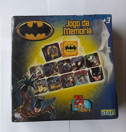 JOGO DA MEMÓRIA BATMAN. 24 PEÇAS DE MADEIRA (12 PARES)