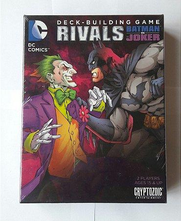 CARD GAME DECK-BUILDING GAME RIVALS BATMAN VS JOKER