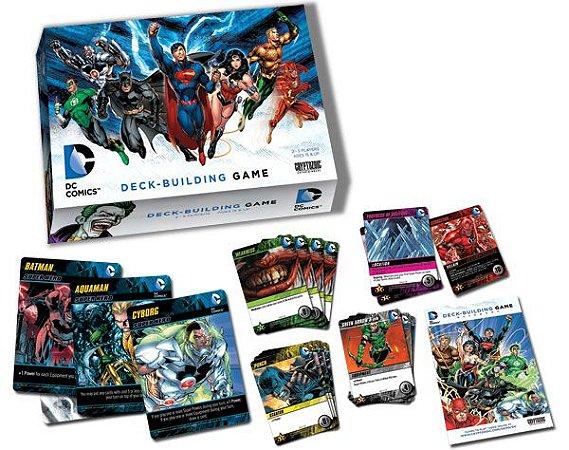 CARD GAME DC COMICS -DECK-BUILDING GAME DC COMICS
