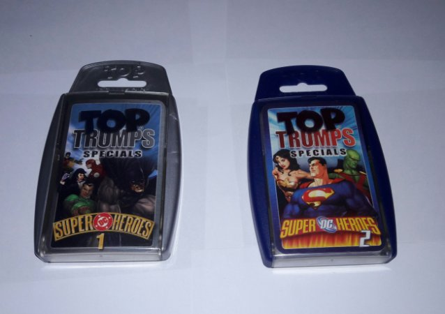 TOP TRUMPS SPECIAL DC COMICS - CARD GAME ESTILO SUPER TRUNFO