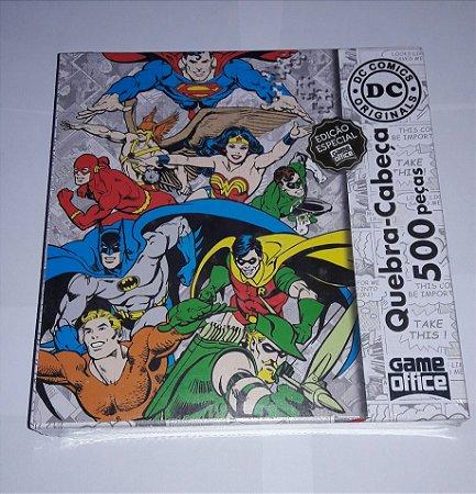 Quebra-cabeça DC Clássicos 500 Peças