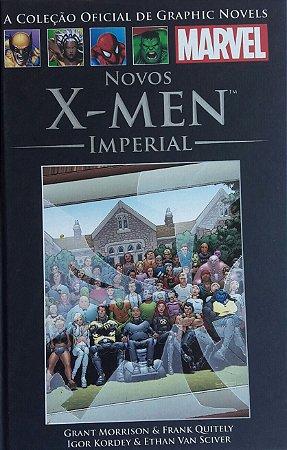 Novos X-men Imperial Ed. Salvat Capa Dura