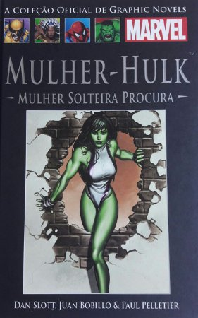 Mulher-Hulk Mulher Solteira Procura Ed. Salvat Capa Dura