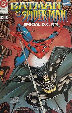Batman E Spider-Man Special D.C. #4 Importada
