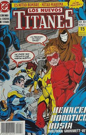 Los Nuevos Titanes #33 - Importada