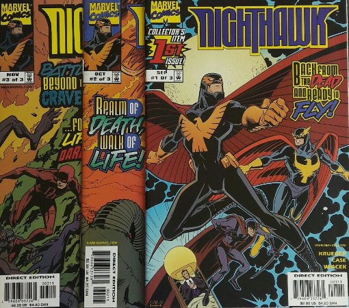 NightHawk (Mini-Série em 3 Partes) - Importada