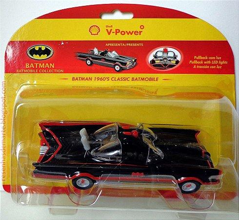 Shell V-Power DC Batman Batmóvel Seriado 66