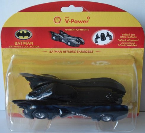 Shell V-Power DC Batman Batmóvel Batman o Retorno