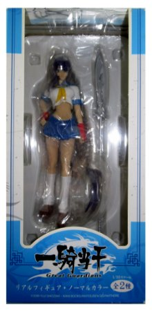 A-Toys Ikkitoussen Kanu Unchou 17 cm Real Figure Normal Color