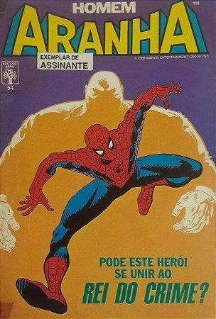 Homem-Aranha #54 - Ed. Abril