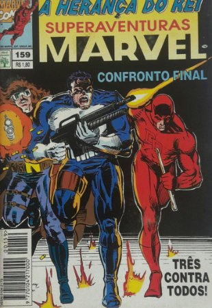 SuperAventuras Marvel #159 - Ed. Abril