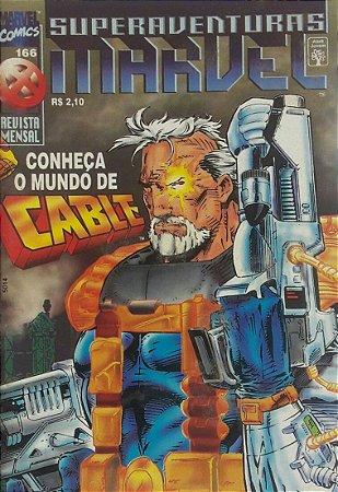 SuperAventuras Marvel #166 - Ed. Abril
