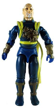 Hasbro 1991 Mortal Kombat G.i.Joe Blue Master Ninja Shan Tsung Gijoe