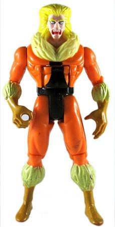 Toy Biz 1992 Marvel X-Men Sabertooth (Dentes de Sabre) Loose