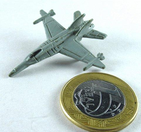 Miniatura Avião Caça militar Genêrico 02