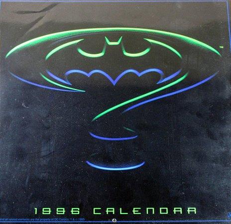 DC Calendário 1998 Batman Eternamente