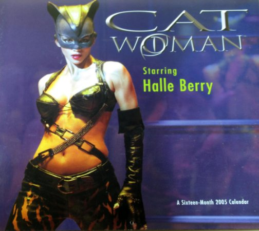 DC Calendário 2005 Catwoman Halle Berry