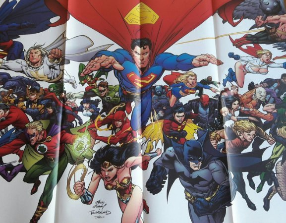 Poster Liga da Justiça Sociedade da Justiça Panini