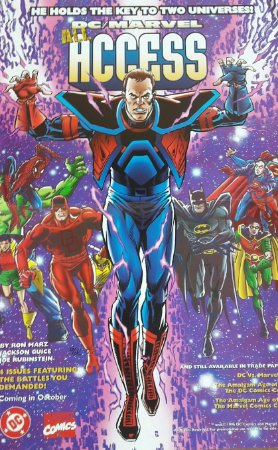 Poster Dc vs Marvel 3
