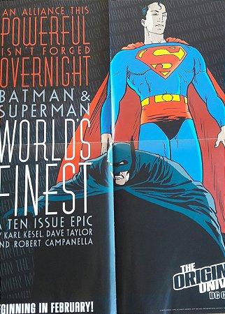 Poster Batman Superman Worlds Finest