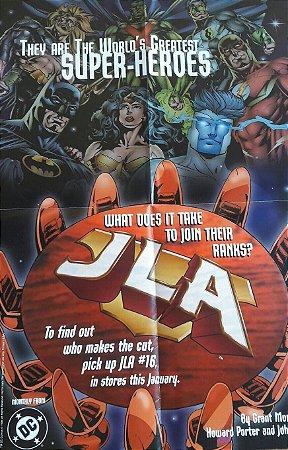 Poster JLA #16 Liga da Justiça