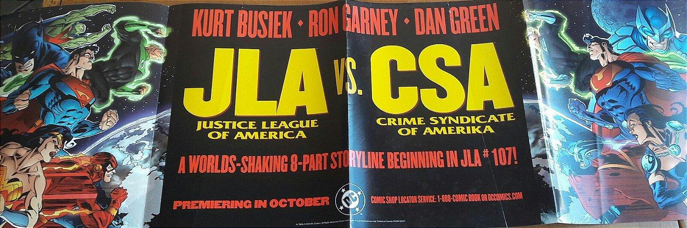 Poster JLA Vs CSA