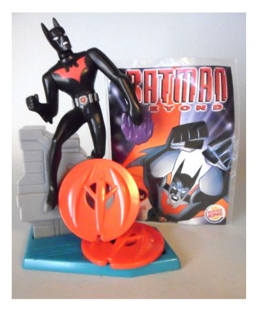Burguer King 2000 Batman Beyond Figure #03 Lacrado