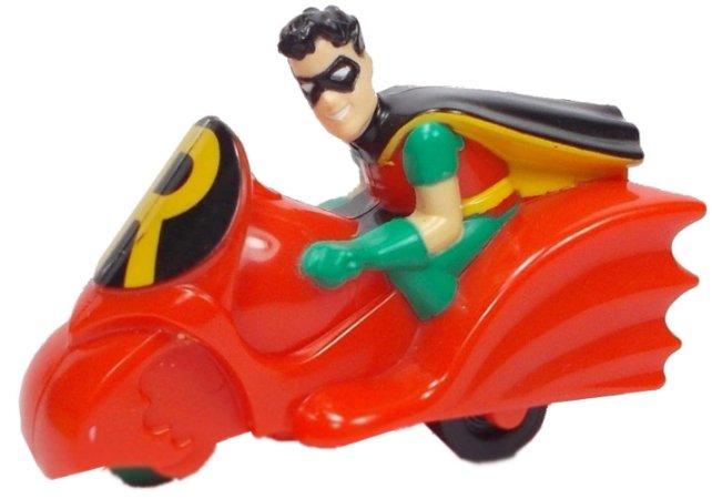 McDonald´s 1993 Batman The Animated Series Robin na moto Lacrado