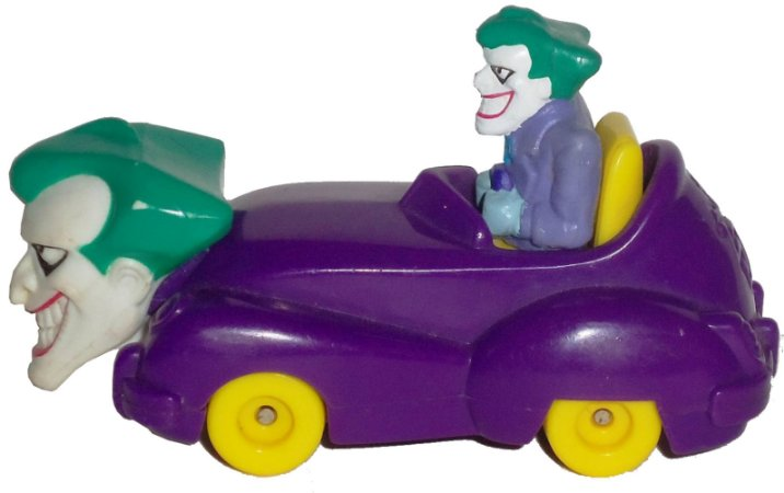 McDonald´s 1993 Batman The Animated Series  Joker´s Car Lacrado