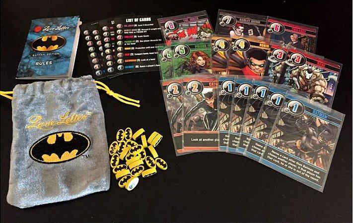 CARD GAME LOVE LETTER BATMAN ARKHAM ASYLUM