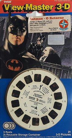 View-Master 3-D Batman O Retorno Estrela 1994 Vintage