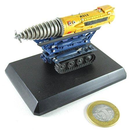Miniatura Veículo Thunderbirds Mole