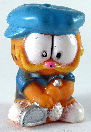Miniatura Garfield Jogando Golf