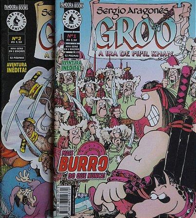 Groo A Ira de Pipil Khan Ed. Pandora Books Sergio Aragones