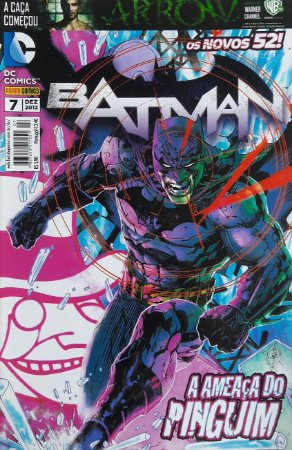 Batman #7 Os Novos 52 Ed. Panini