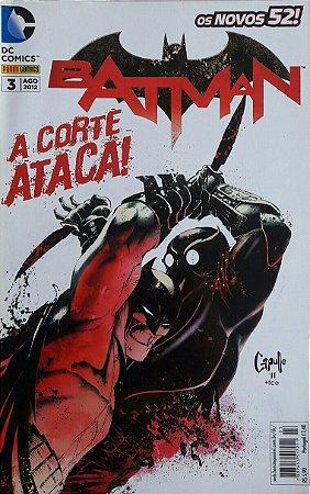 Batman #3 Os Novos 52 Ed. Panini