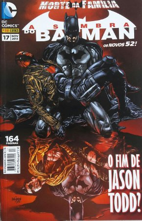 A Sombra do Batman #17 Os Novos 52 Ed. Panini
