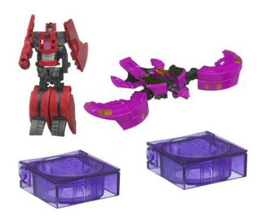 Hasbro Transformers Fall Of Cybertron Frenzy e Ratbat Figure