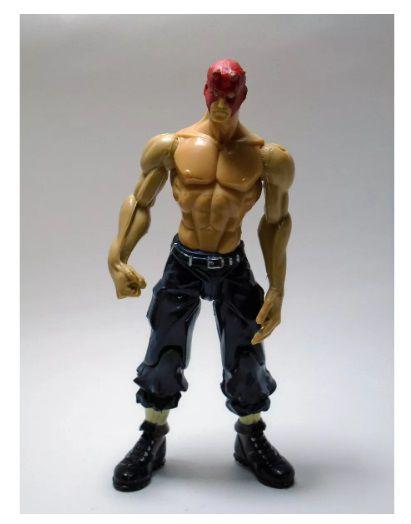 Boneco Street Fighter Zero Nash Para Custom