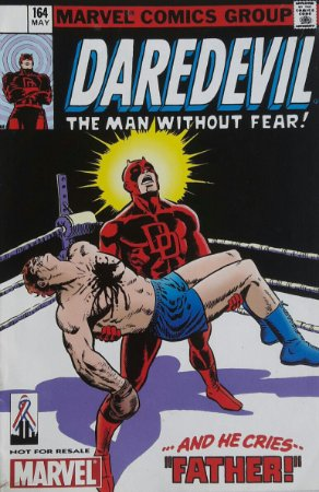 Daredevil #164 Importada Re-Edição Marvel Legends