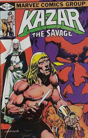 Ka-zar the Savage #11 Importada