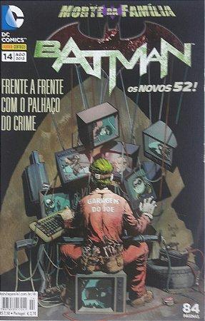 Batman #14 Os Novos 52 Ed. Panini
