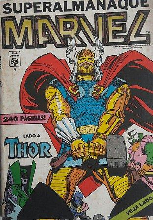 SuperAlmanaque Marvel #4 - Thor Homem de Ferro