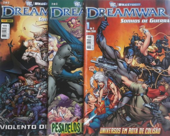 Dreamwar Sonhos de Guerra - DC WildStorm