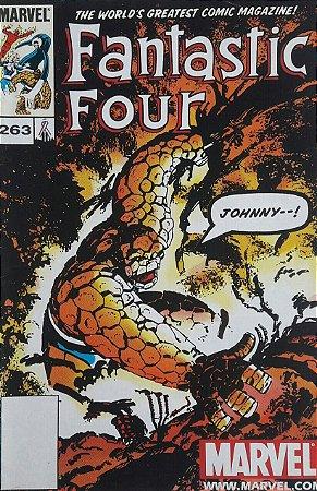 Fantastic Four #263 Importada Re-Edição Marvel Legends