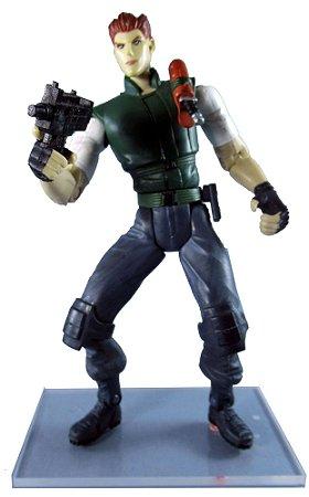 Toy Biz Resident Evil 1 Chris Redfield Figure Loose