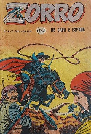 Zorro Capa e Espada 2a Série #5 Ebal