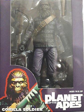 Neca Planeta dos Macacos Gorilla Soldier Figure